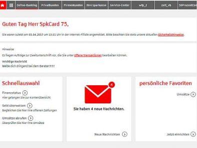 neue startseite f r das online banking willkommen im blog der stadtsparkasse oberhausen. Black Bedroom Furniture Sets. Home Design Ideas