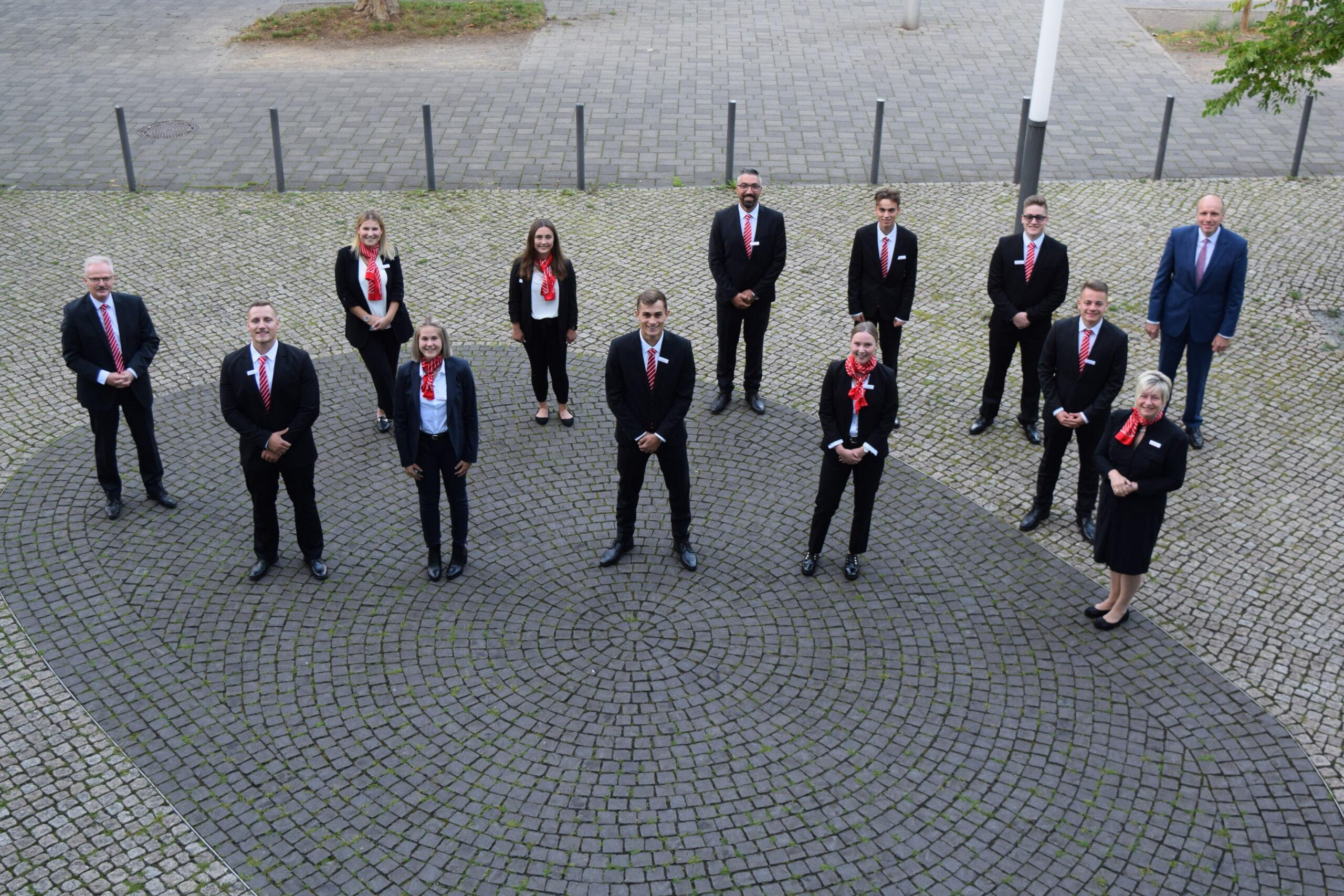 Stadtsparkasse Oberhausen begrüßt neue Auszubildende