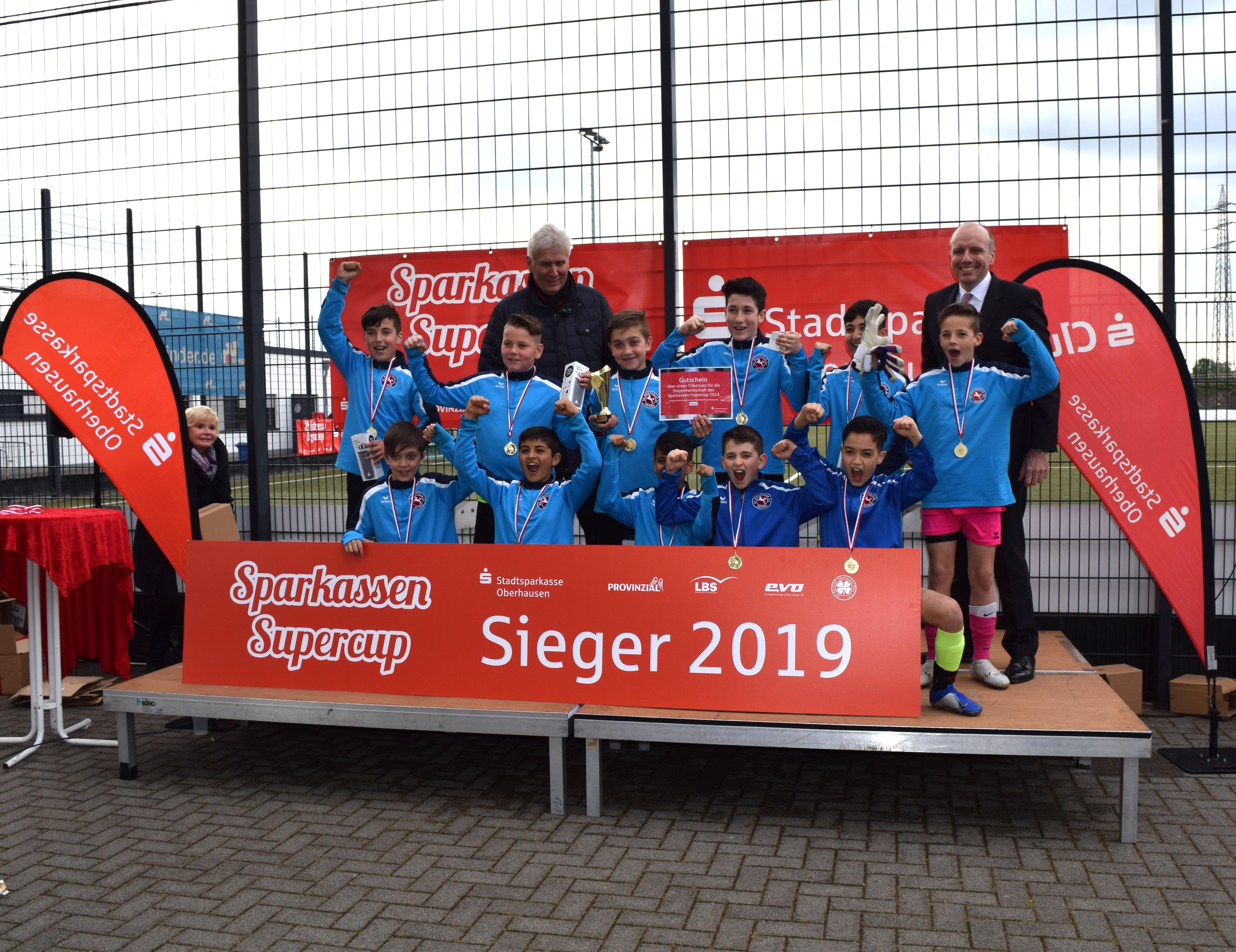 Sparkassen-Supercup – Erstauflage des Turniers bei RWO war ein großer Erfolg
