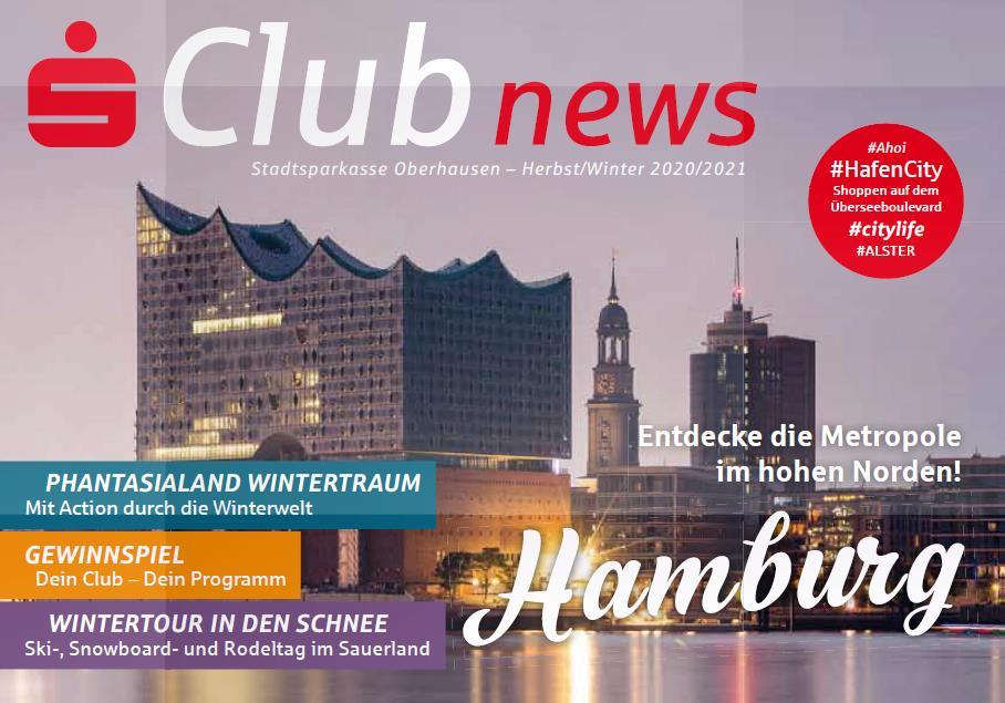 Die neue S-Club News Herbst/Winter 2020 ist da